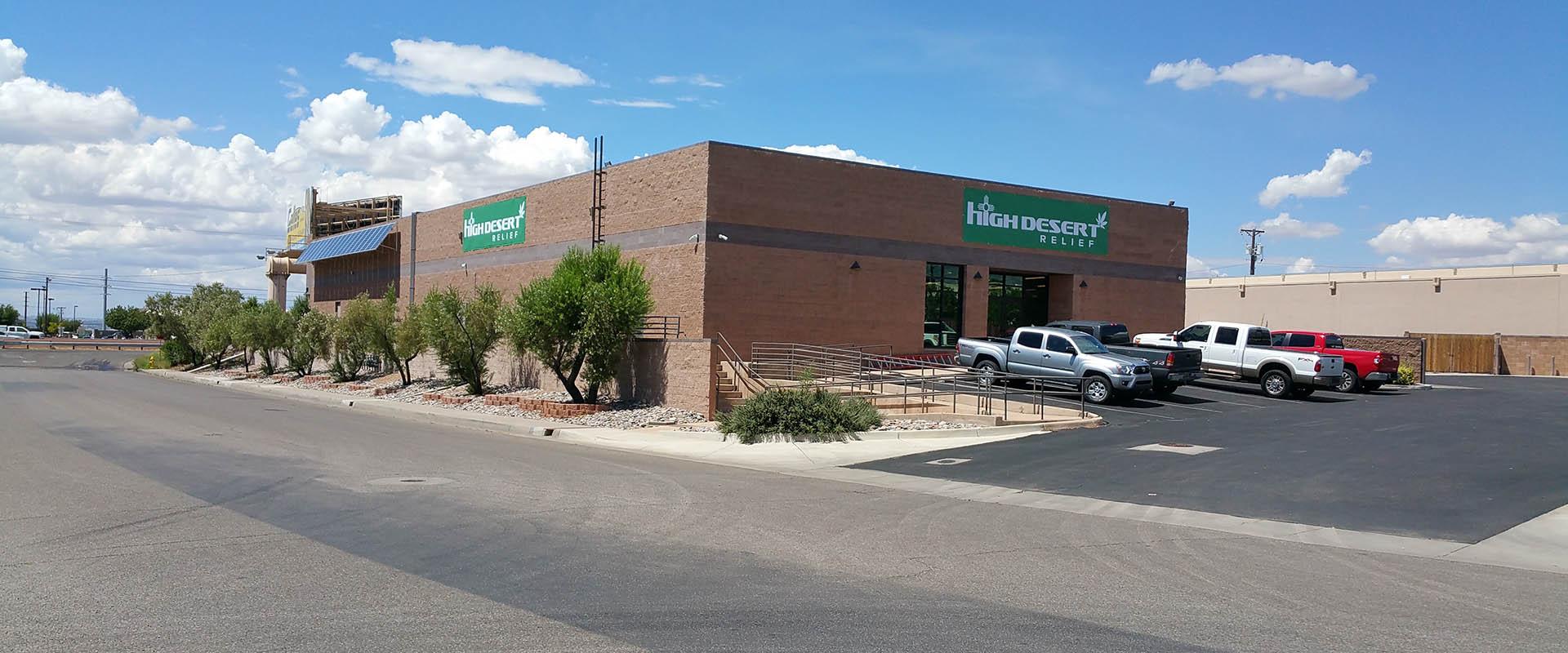 High Desert Relief Medical Cannabis Dispensary Albuquerque Nm