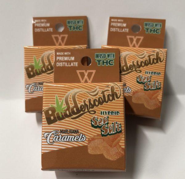 budderscotch cannabis caramels